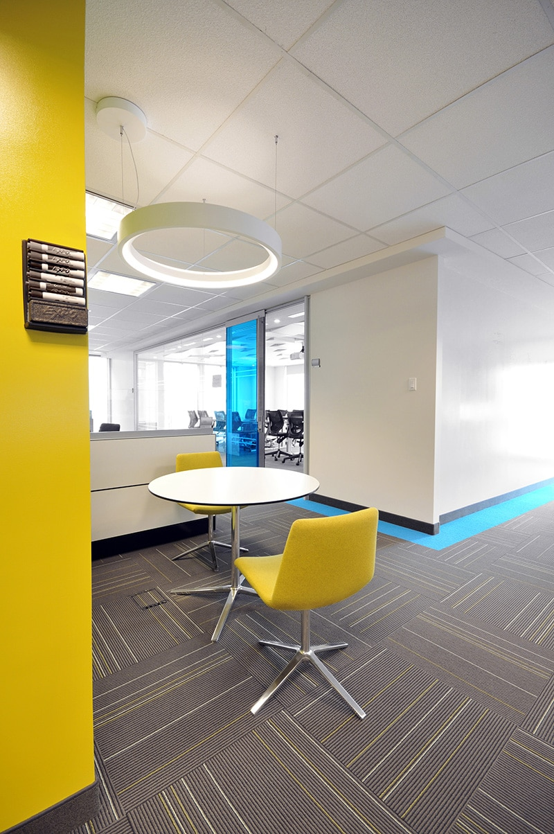 Office space at PSP Investments headquarters designed by VAD