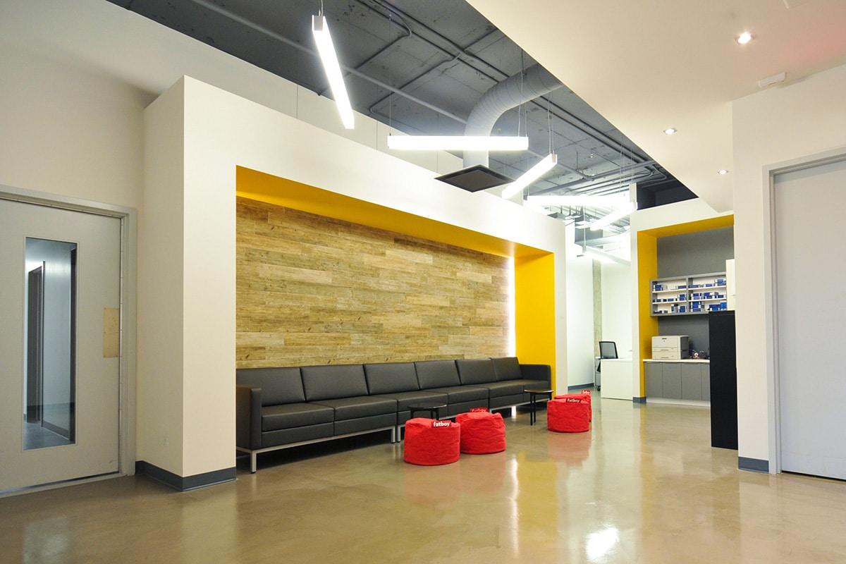 Réception SOVO Technologies par VAD Designers d'espaces