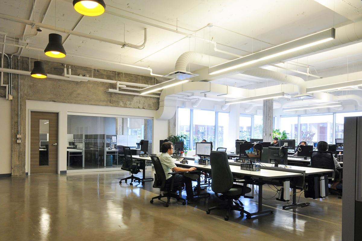 Bureaux SOVO Technologies par VAD Designers d'espaces