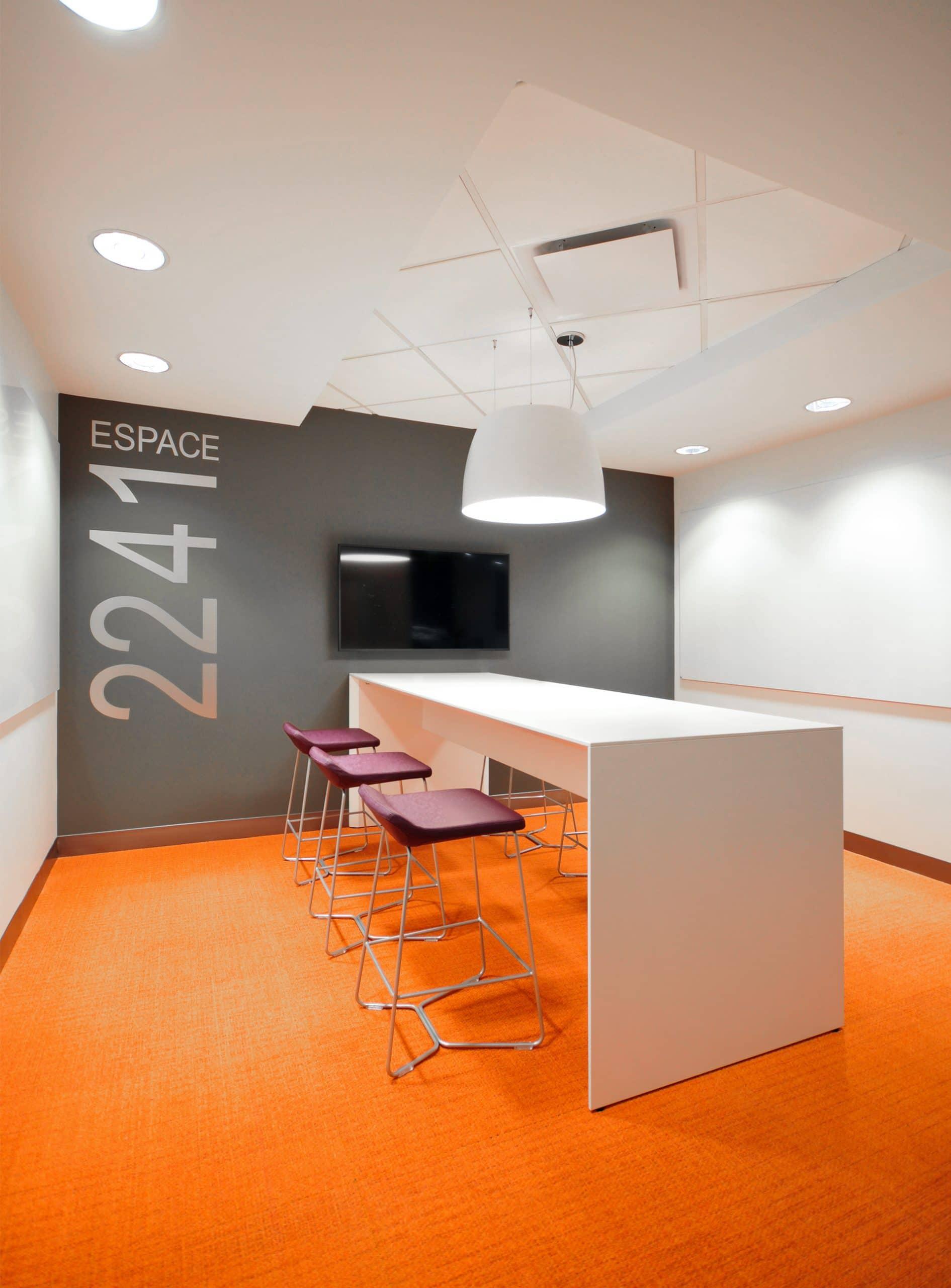 Coin collaboration au siège social de RCGT par VAD Designers